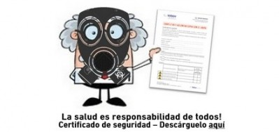 Certificado de Seguridad para el envío de equipos al Servicio Técnico