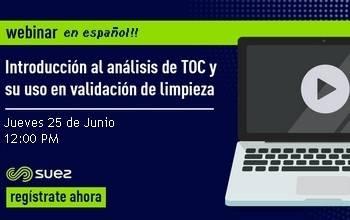 Introducción al análisis de TOC y uso en validación de limpieza  - en Español