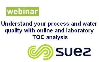 Understand your process and water quality with online and laboratory TOC analysis