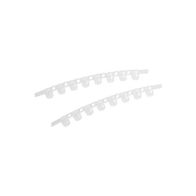 Tiras de 8 tapones Masterclear Eppendorf, para tubos PCR real-time - 120 unidades