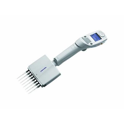 Eppendorf Xplorer, 8 canales, pulsador de báscula multifunción