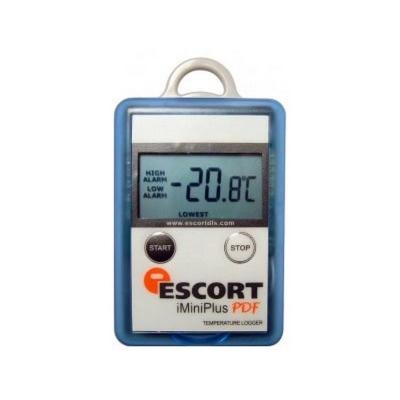 Registrador de temperatura Escort, USB socket, rango: -40 a 70 C, iMINIPlus PDF