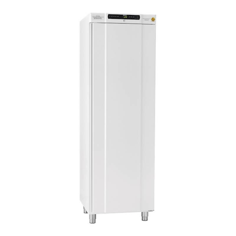 Freezer antiexplosivo Gram, -25 a -5 C, 312 L, ATEX, blanco, con estantes, Serie BioCompact II (IIRF410)