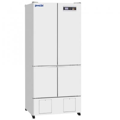 Refrigerador Farmacéutico con Freezer Phcbi, refrigerador: capacidad 326L, temperatura 2 a 14 C; freezer: capacidad 136L, temperatura -20 a -30 C