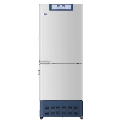 Refrigerador Farmacéutico con Freezer Haier, rango de temperatura 2 a 8 C y -20 a -40 C