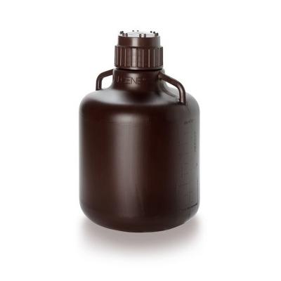 Bidon Nalgene, ambar polietileno de alta densidad HDPE, 10 litros - 6 unidades