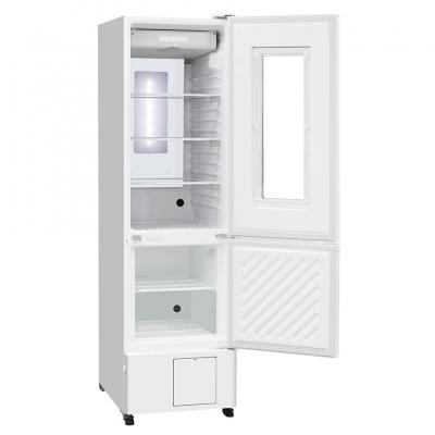 Refrigerador Farmacéutico con Freezer Phcbi, refrigerador: capacidad 179L, temperatura 2 a 14 C; freezer: capacidad 80L, temperatura -20 a -30 C