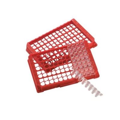 Tira de 8 pocillos de PCR Nunc, TopYield - 12 unidades