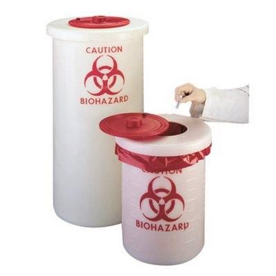 Recipientes para desechos biotóxicos Nalgene, polipropileno PP