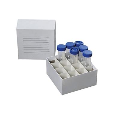 Criocaja Biologix, para 16 tubos de 50 ml, cartón - 100 unidades