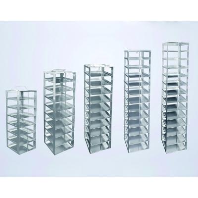 Rack para Freezer Vertical Biologix, acero inoxidable
