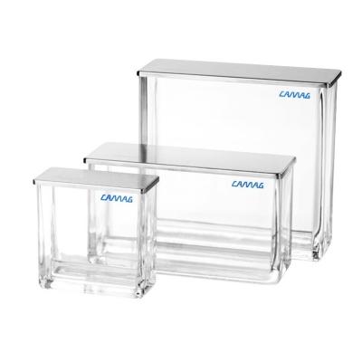Cuba cromatográfica con compartimento doble Camag