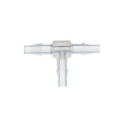 Conector tipo T dentado Cole Parmer, polipropileno PP, 1.6 mm - 25 unidades