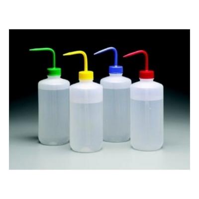 Piseta Nalgene, con código de color, polietileno de baja densidad LDPE