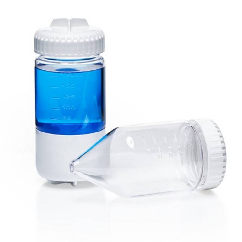 Botella de centrifugación Nalgene, de fondo cónico copolímero de policarbonato PC, 175 ml - 1 unidad