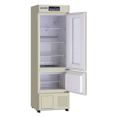 Refrigerador Farmacéutico con Freezer Phcbi, rango de temperatura 2 a 14 C y -20 a -30 C