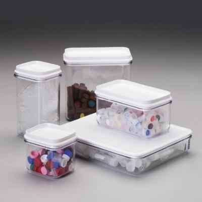 Caja para uso general Nalgene, cuerpo de acrilico tapa de polietileno de baja densidad