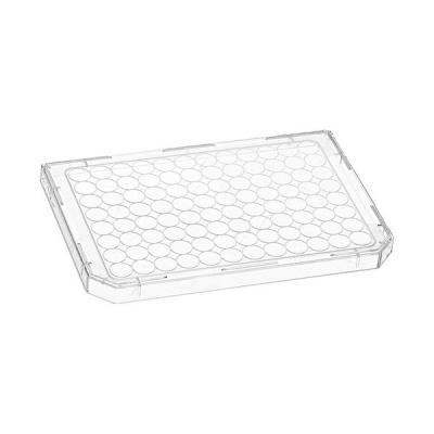 Tapa para microplacas de 96 pocillos Nunc, transparente, con anillos de condensación, no estéril, PS, 86 x 128 mm -  5 unidades