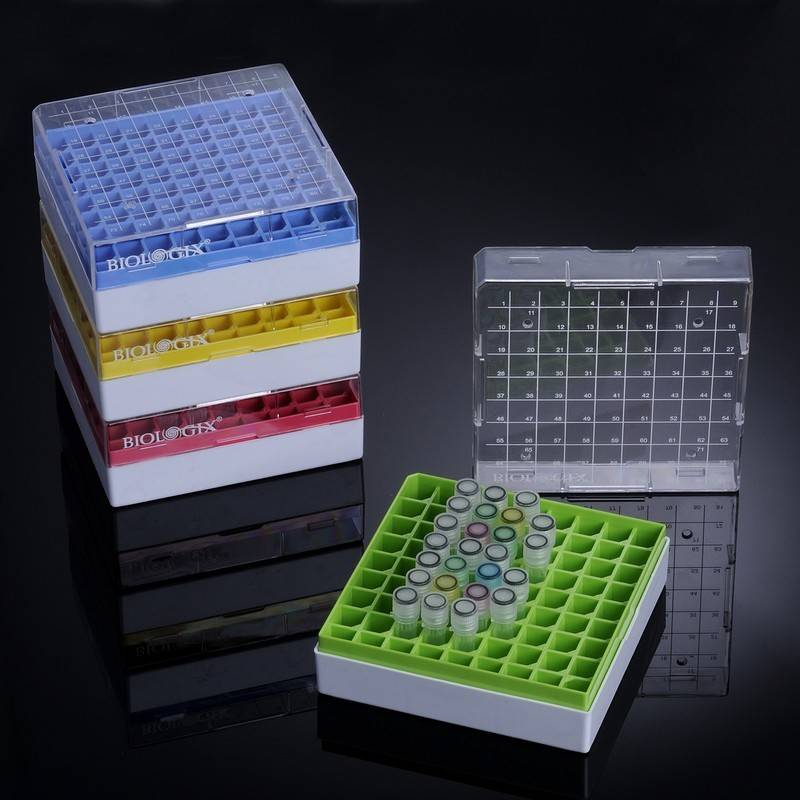 Criocaja Biologix, policarbonato, -196 C a 121 C