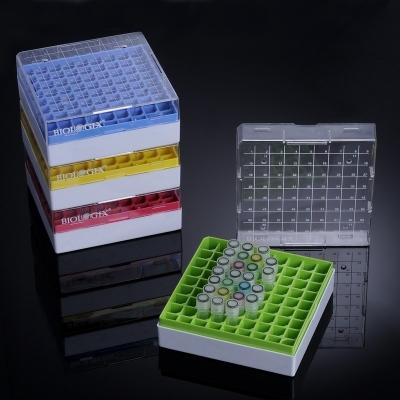 Criocaja Biologix, policarbonato, -196 a 121 C