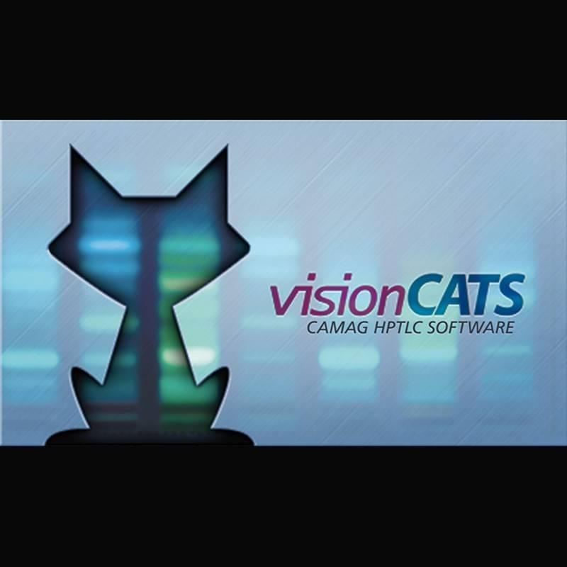 Software para HPTLC visionCATS Camag, Scanner Ultimate Package