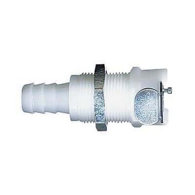 Acoplamiento con válvula de desconexión rápida CPC, polipropileno, diámetro interno 1/4, hembra - 25 unidades