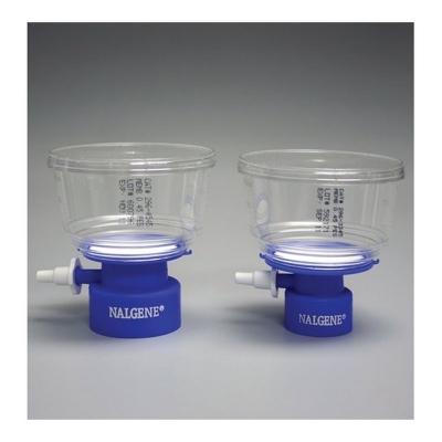 Filtro tipo tapa de botella Nalgene, Serie MF75 membrana de poliestersulfona PES - 12 unidades