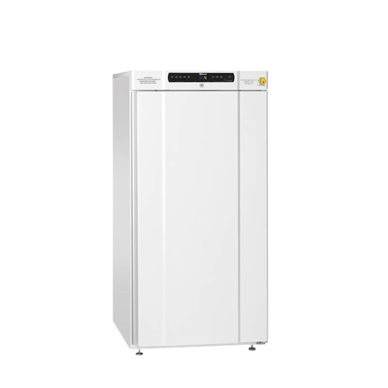 Refrigerador antiexplosivo Gram, 2 a 20 C, 189 L, ATEX, blanco, Serie BioCompact II (IIRR310)