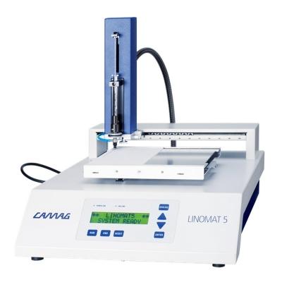 Sistema para aplicación de muestras en placas de TLC Linomat 5 Camag