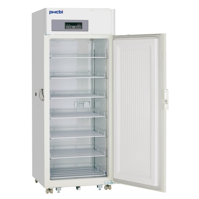 Freezer Biomédico Vertical Phcbi, temperatura mínima, -30°C, 690L, 4 estantes, 1 puerta, refrigerantes naturales, serie Pro