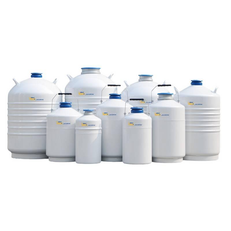 Tanque de Nitrógeno Líquido CryoKING Biologix, serie Laboratory