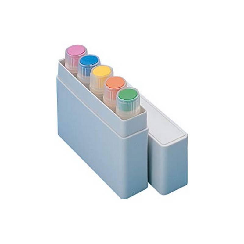 Caja de Transporte Nunc, para 5 viales de 1.0 - 2.0 ml, NS, HIPS - 350 unidades