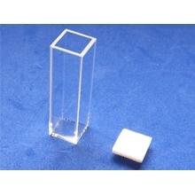 Cubeta de cuarzo Biobasic, para fluorometría, paso de luz 10mm, capacidad 3.5ml, dimensiones 12x12x45 mm