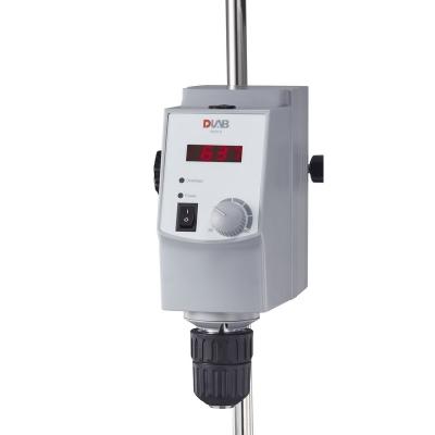 Agitador de hélice Dlab, display LED, modelo OS20-S
