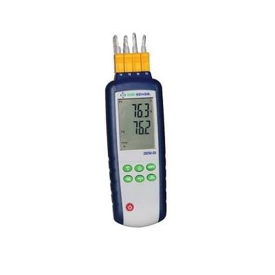 Registrador de temperatura Digi-Sense,  4 entradas, termocupla T/C Tipo K/J, calibracion con trazabilidad NIST