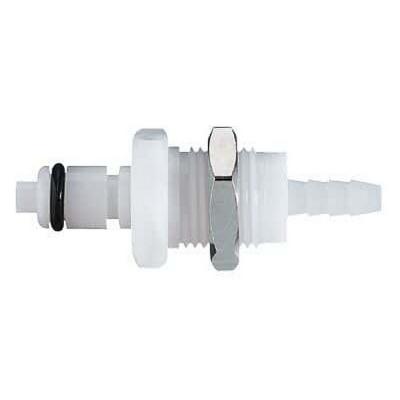 Acoplamiento con válvula de desconexión rápida CPC, polipropileno, diámetro interno 1/4, macho - 25 unidades