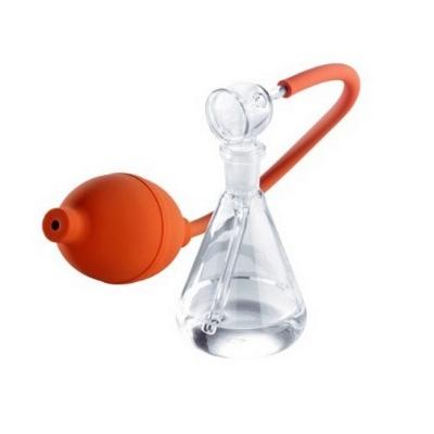 Rociador de vidrio para TCL Camag, completo, con erlenmeyer 100 ml