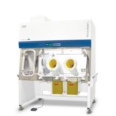 Aislador de Presión Postiva ESCO, dos cámaras laterales, sin contenedores para deshechos corto-punzantes
