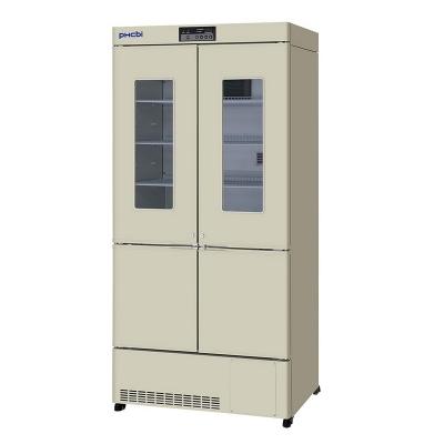 Refrigerador Farmacéutico con Freezer Phcbi, refrigerador: temperatura 2 a 14 C, capacidad 415L; freezer: temperatura -20 a -30 C, capacidad 176L