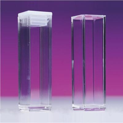 Cubeta de Vidrio Lightpath, paso de luz 10 mm, 3.5 ml   -1 unidad-