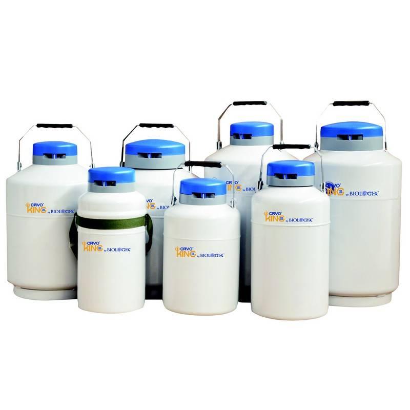 Tanque de Nitrógeno Líquido CryoKING Biologix, serie Portable Dewar