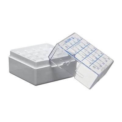 Criocaja Nalgene, policarbonato PC, para 25 crioviales de 1.2 y 2.0 ml - 1 unidad