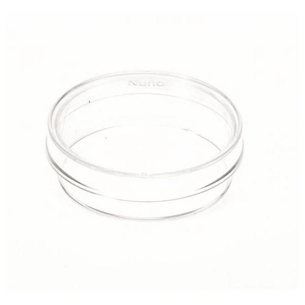 Placa de suspensión Nunc, tapa con ventilación, sin tratar, estéril, PS, 8.8 cm2, 35 x 10 mm - 20 unidades