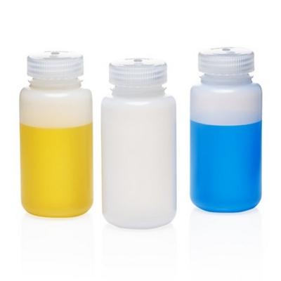 Botella de centrifugación Nalgene, boca ancha, polietileno de alta densidad HDPE, 250 ml - 1 unidad