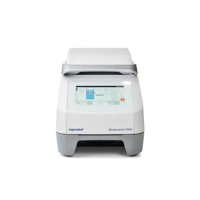 Termociclador PCR Eppendorf, modelo Mastercycler X50a, 110-230V, bloque térmico de 96 pocillos, aluminio con panel de control (6313000018)