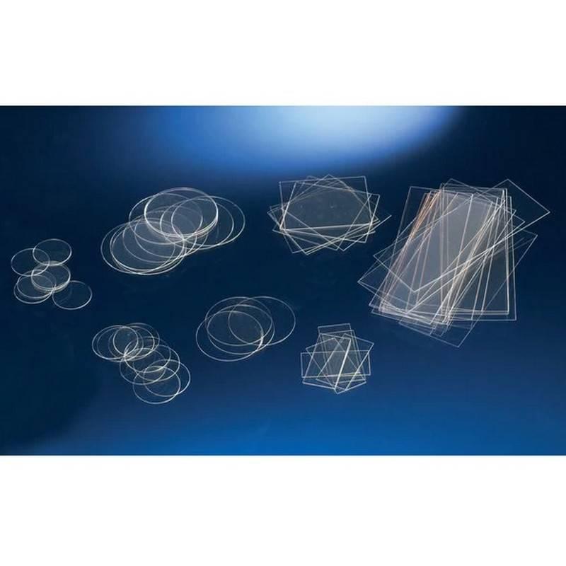 Cubreobjetos para Cultivo Celular Nunc, estéril, Thermanox, plástico, diámetro 13 mm - 50 unidades
