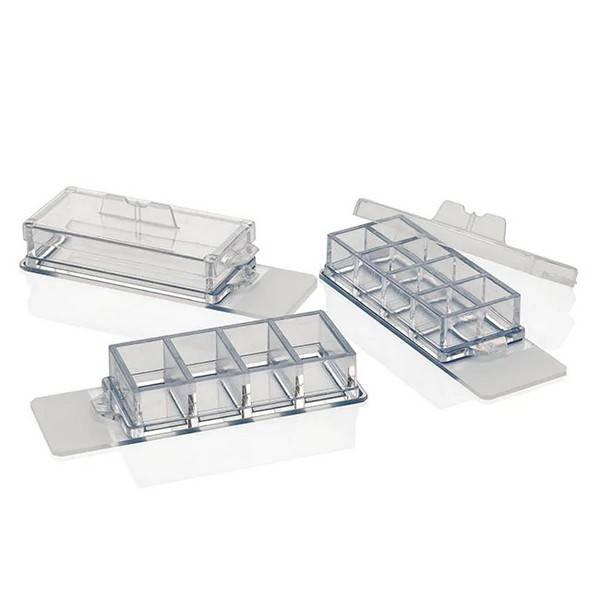 Cámara de cultivo sobre portaobjetos Nunc, Lab-Tek II, vidrio RS, estéril, 8 pocillos - 16 unidades