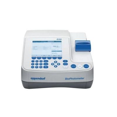 Biofotómetro Eppendorf, Modelo BioPhotometer D30, 230 V, 50-60 Hz (6133000001)