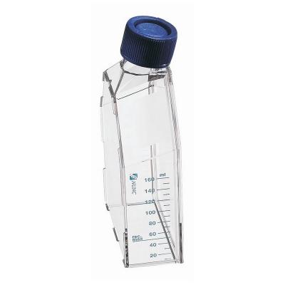 Frasco para Cultivo Nunc, 25 cm2, estéril, tratamiento Nunclon, EasY Flask, cuello en ángulo, tapa Vent/Close - 10 unidades