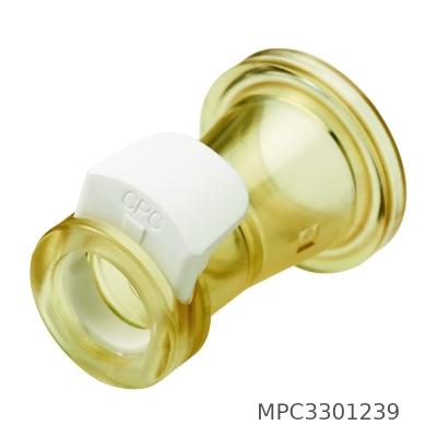 Conector CPC, Sanitary, polisulfona clase VI, sin válvula - 25 unidades